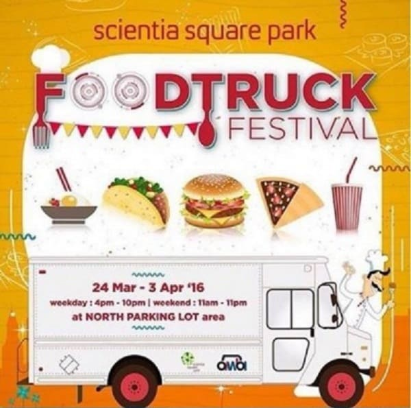 Food Truck Festival di Scientia Square Park