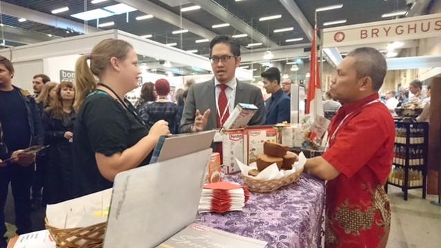 Indonesia Tampilkan Wedang Jahe dan Kue Bolu di Foodexpo Denmark