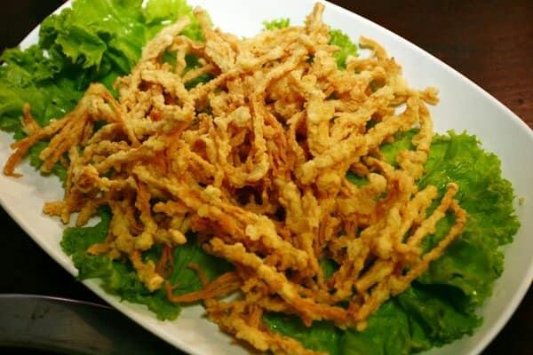 Resep Membuat Jamur Enoki Crispy