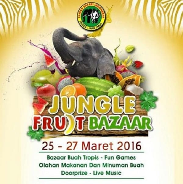 Jungle Fruit Bazaar di Taman Safari Indonesia