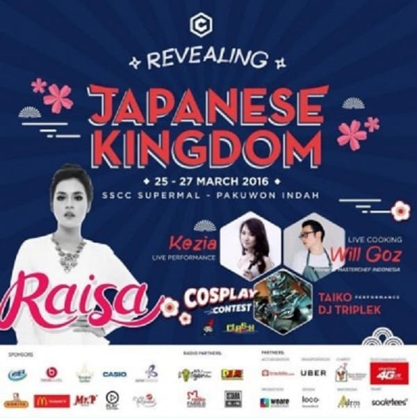 Live Cooking di Revealing Japanese Kingdom