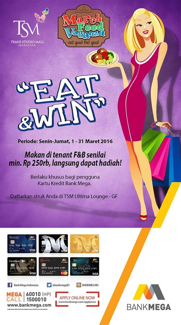 "March Food Vaganza ""Eat & Win"""