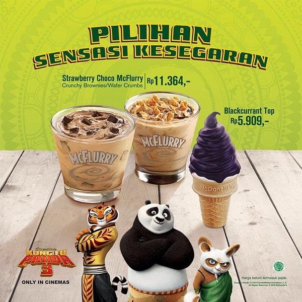 McDonald's Promo Dessert Hemat Harga Spesial Mulai Rp. 5.909,-