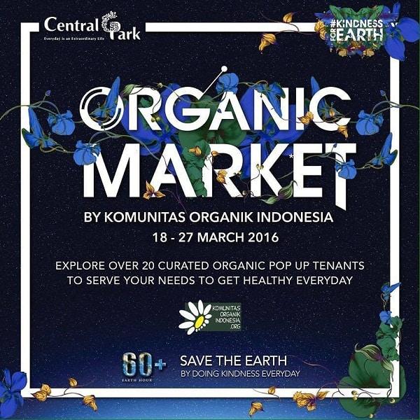 Organic Market di Central Park
