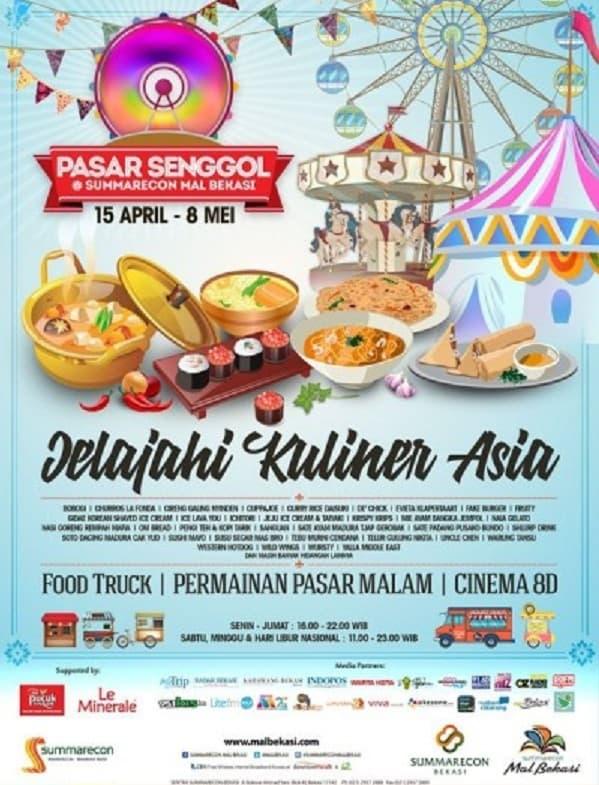 "Pasar Senggol ""Jelajahi Kuliner Asia"""