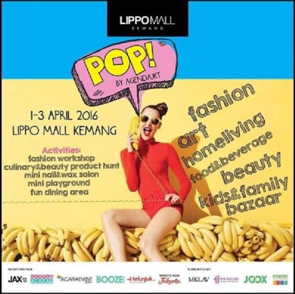 Pop Bazaar di Lippo Mall Kemang