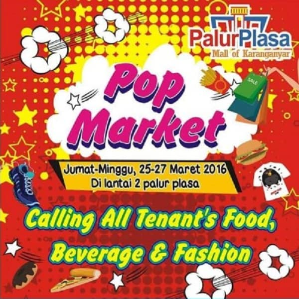 Pop Market di Palur Plasa Mall of Karanganyar