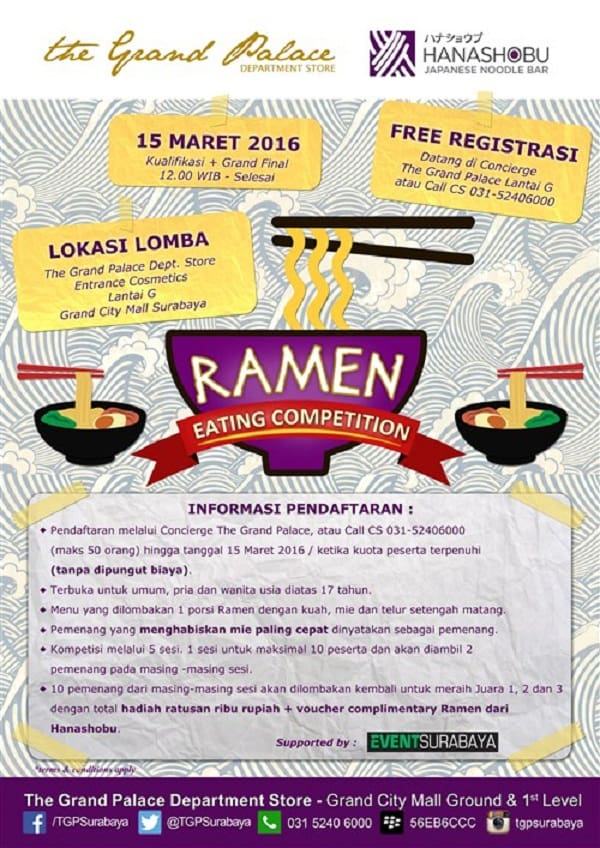 Ramen Eating Competition