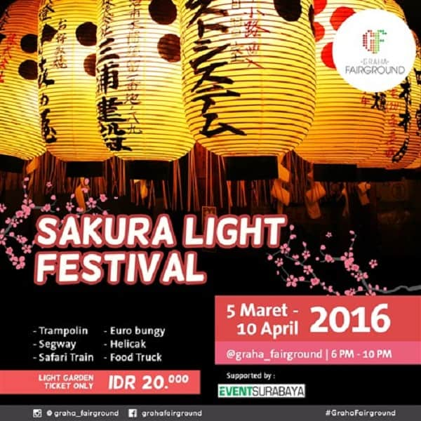 Food Truck Ramaikan Sakura Light Festival