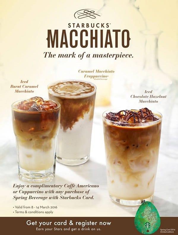 Starbucks Promo Free Caffe Americano or Cappuccino