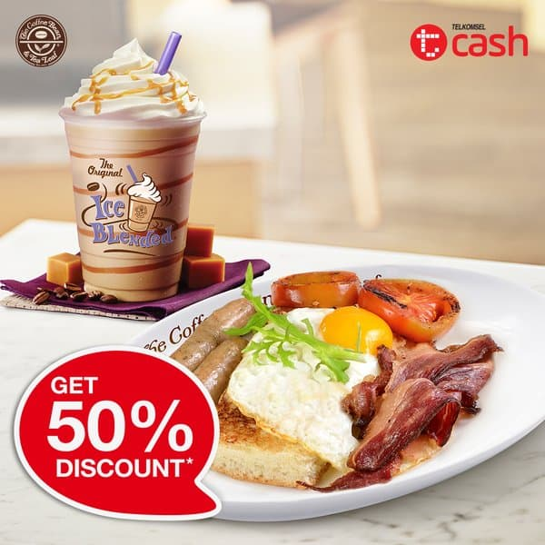 The Coffee Bean Promo Diskon 50% Pakai TCash Telkomsel