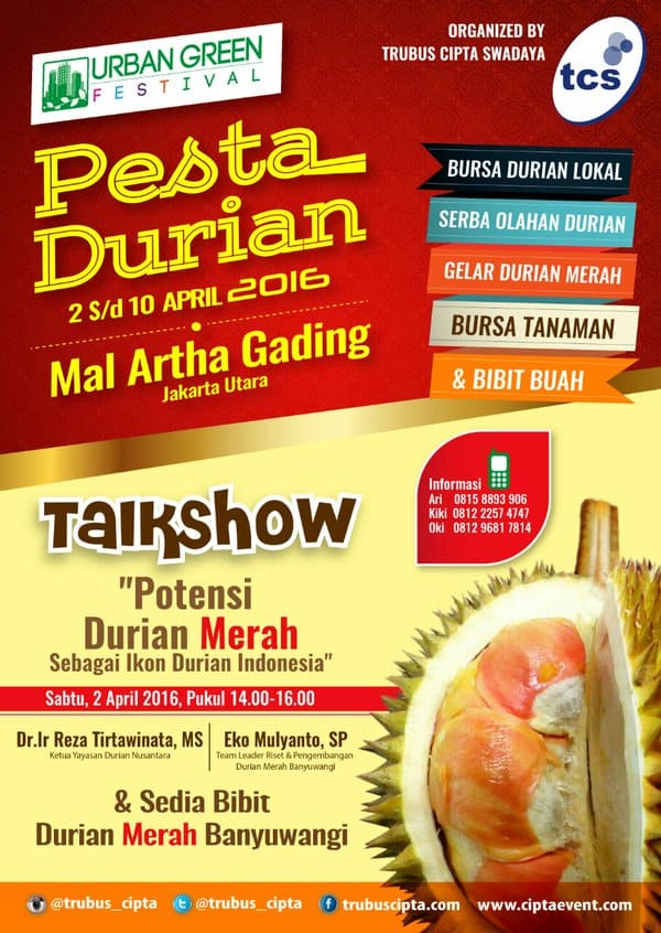 Urban Green Festival: Pesta Durian