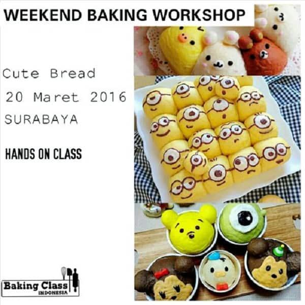 Weekend Baking Workshop: Cute Bread Class