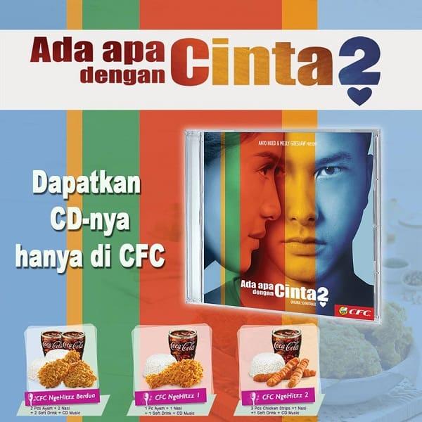CFC NgeHitzz Gratis CD Musik Ada Apa Dengan Cinta 2