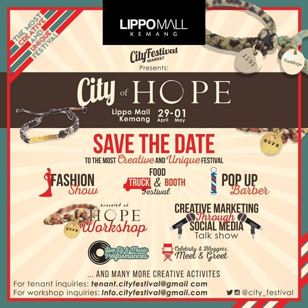 City of Hope Lippo Mall Kemang