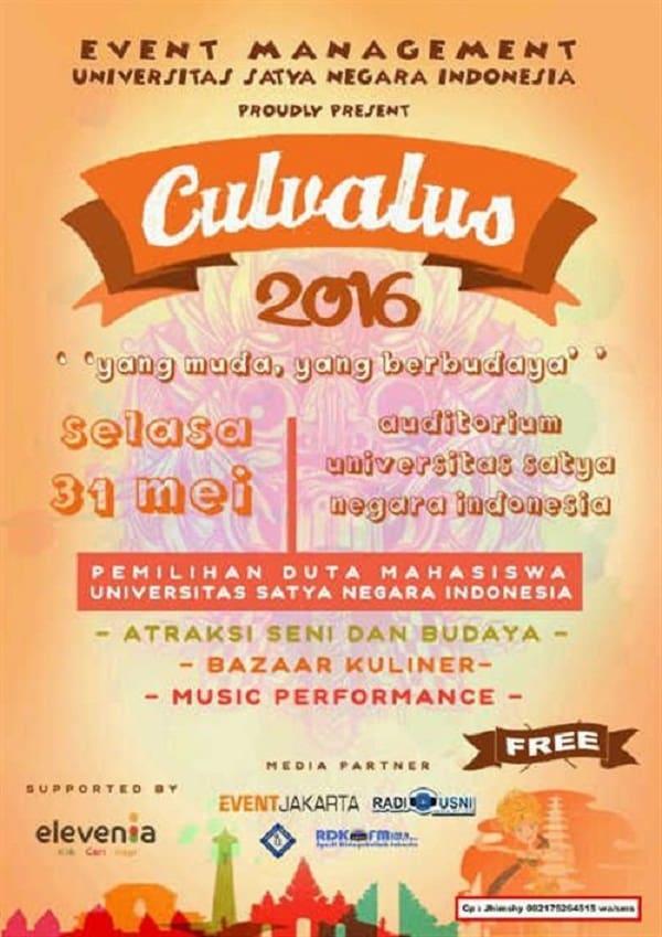 Culvalus 2016