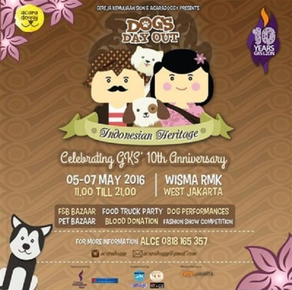 Dogs Day Out 'Indonesian Heritage'