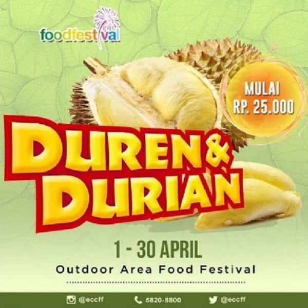 Duren & Durian di Food Festival