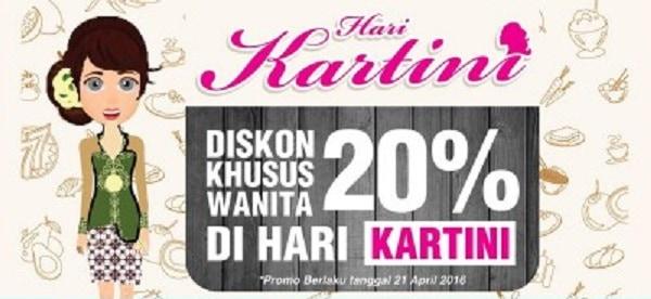 Es Teler 77 Promo Hari Kartini Diskon 20%