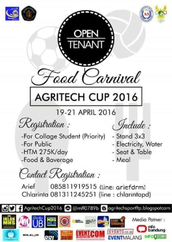 Food Carnival Agritech Cup 2016