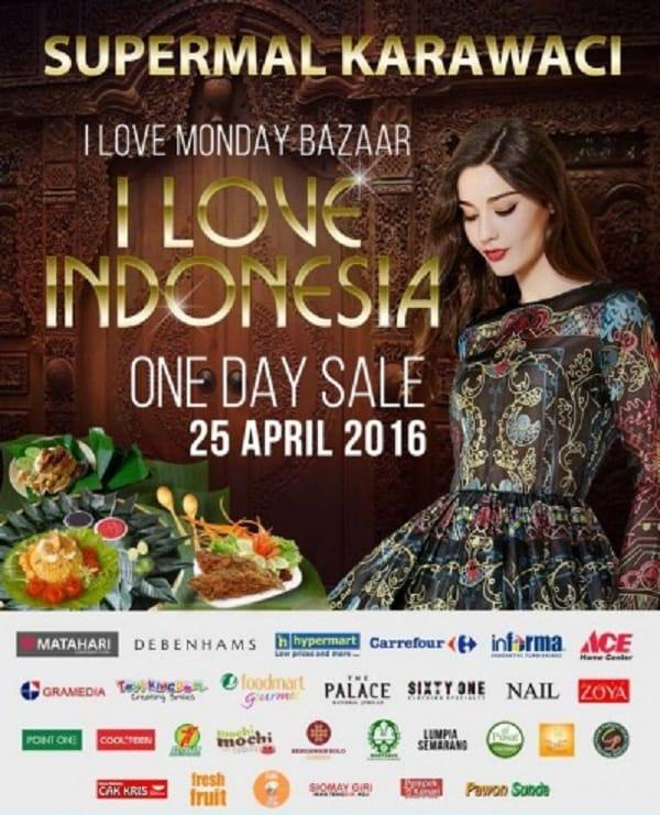 I Love Monday Bazaar I Love Indonesia