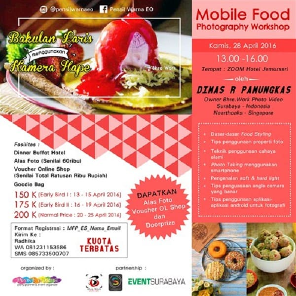 Mobile Food Photography Workshop