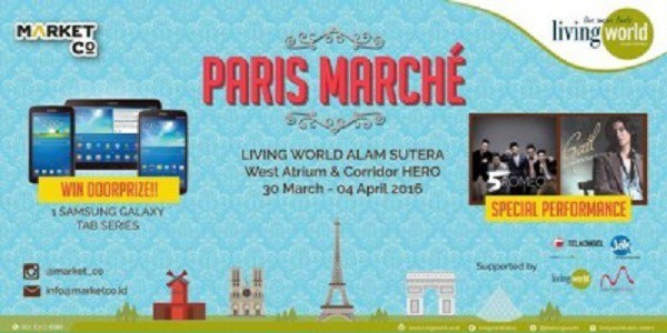 Paris Marche Living World Alama Sutera