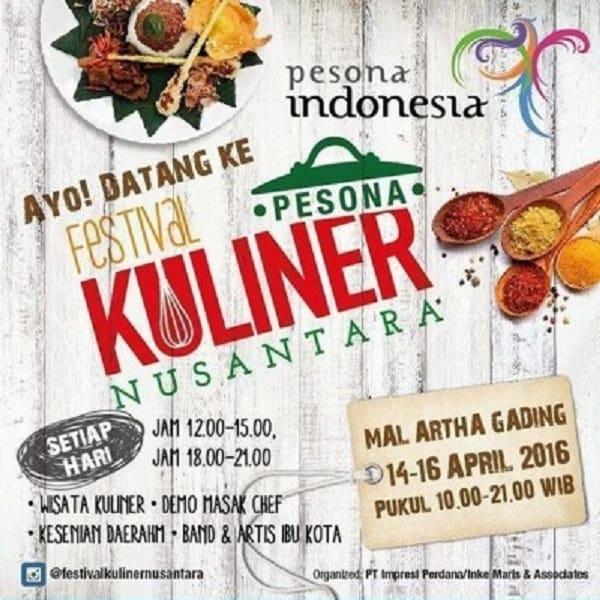 Pesona Festival Kuliner Nusantara