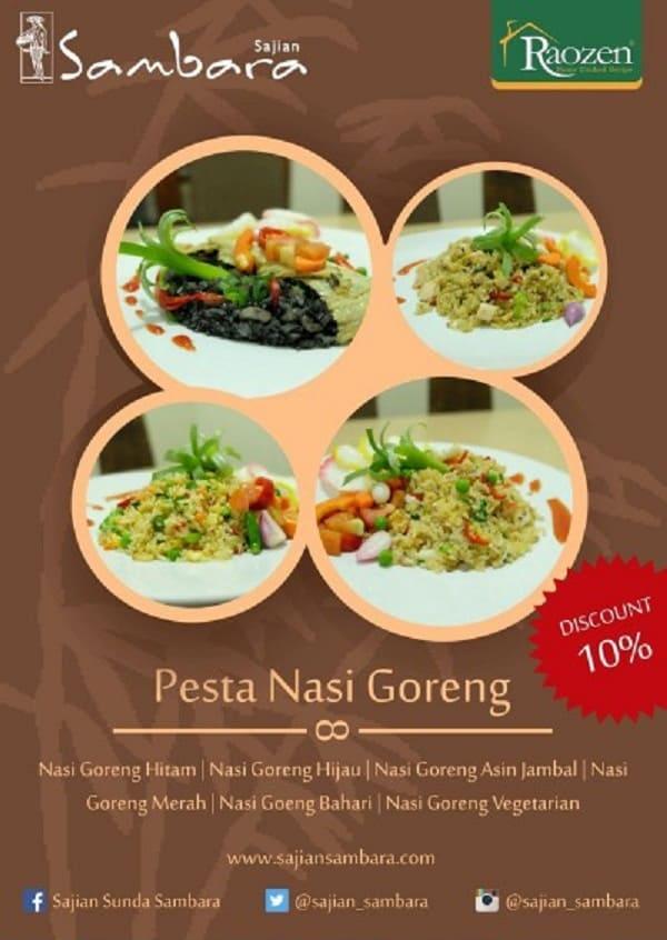Pesta Nasi Goreng Sajian Sambara Bandung