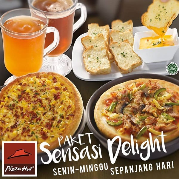 Pizza Hut Promo Paket Sensasi Delight Sepanjang Hari