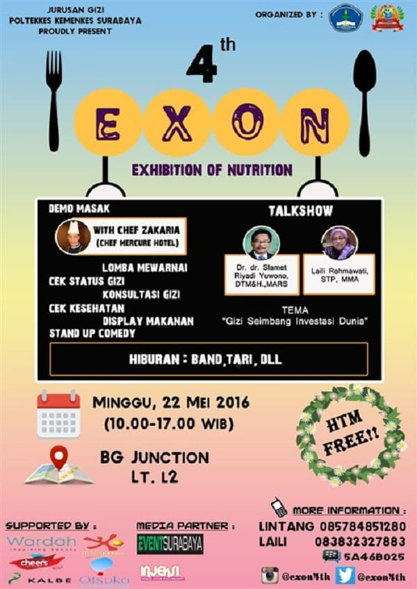 "4th EXON ""Exhibition of Nutrition"""