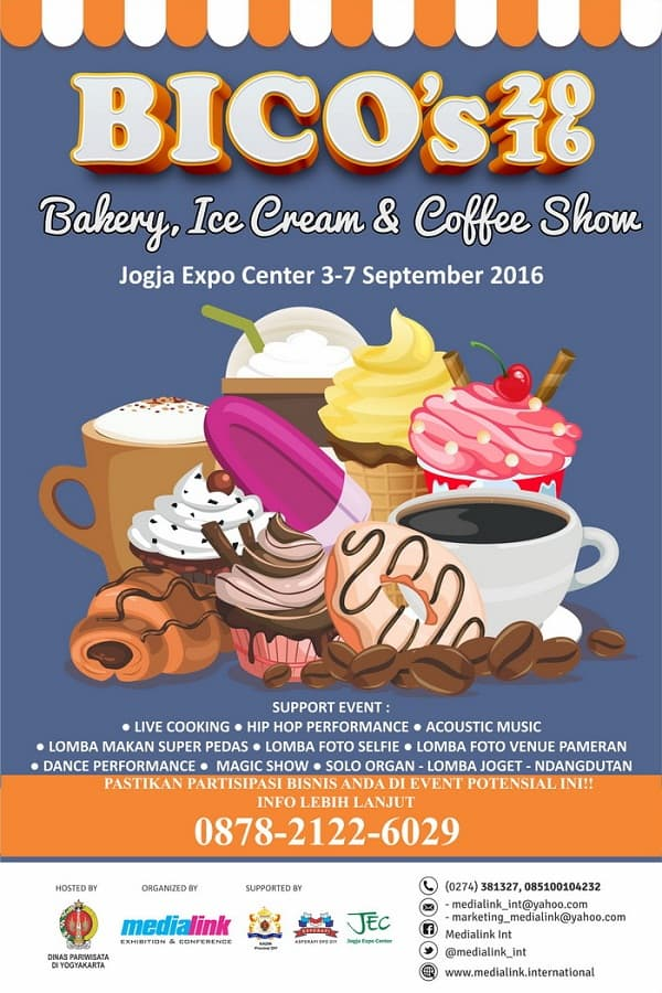 BICO's 2016: Bakery, Ice Cream, & Coffee Show