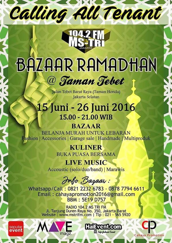 Bazaar Ramadhan @ Taman Tebet