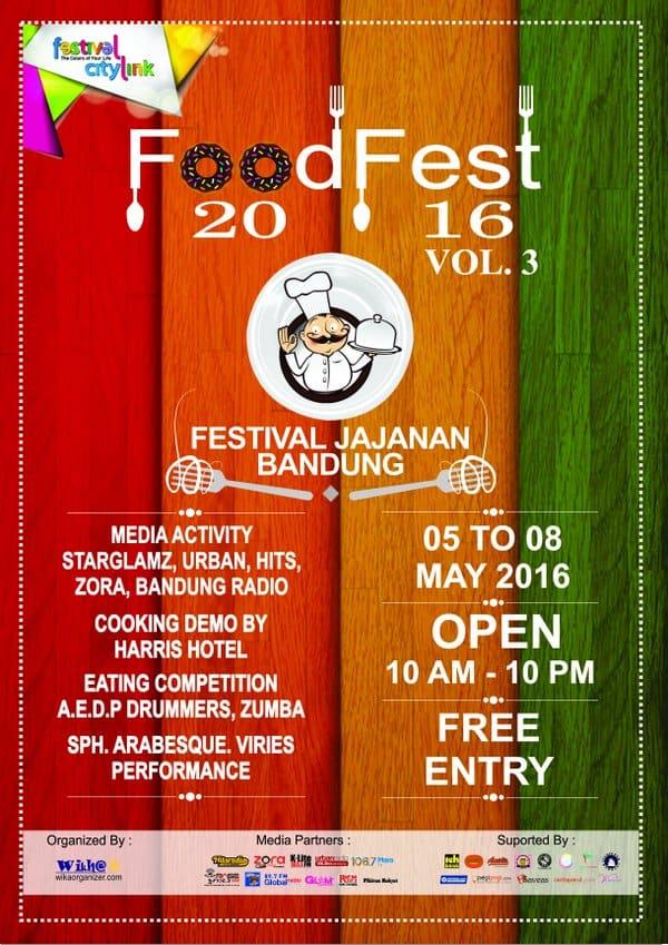 "Food Fest 2016 Vol. 3: ""Festival Jajanan Bandung"""
