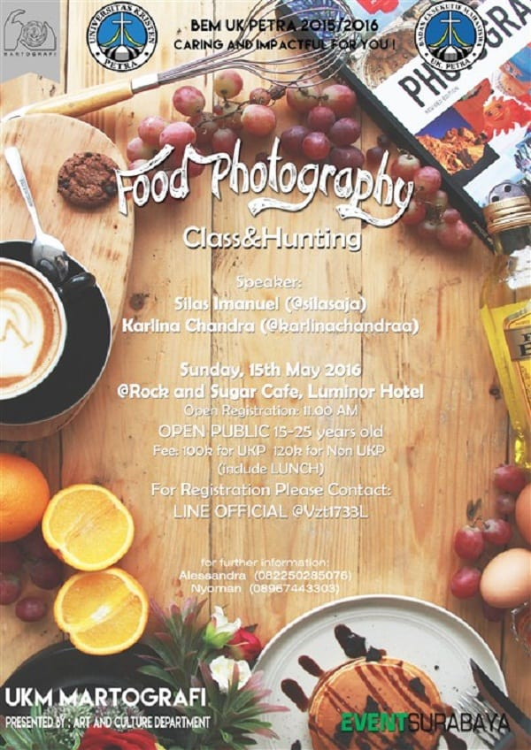 Food Photography Class & Hunting
