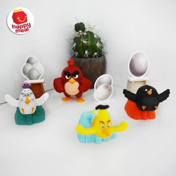 McDonald's Promo Happy Meal Gratis Merchandise Angry Bird Movie