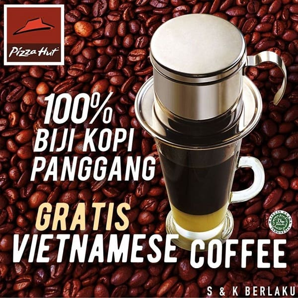 Pizza Hut Promo Breakfast Gratis Vietnamese Coffee