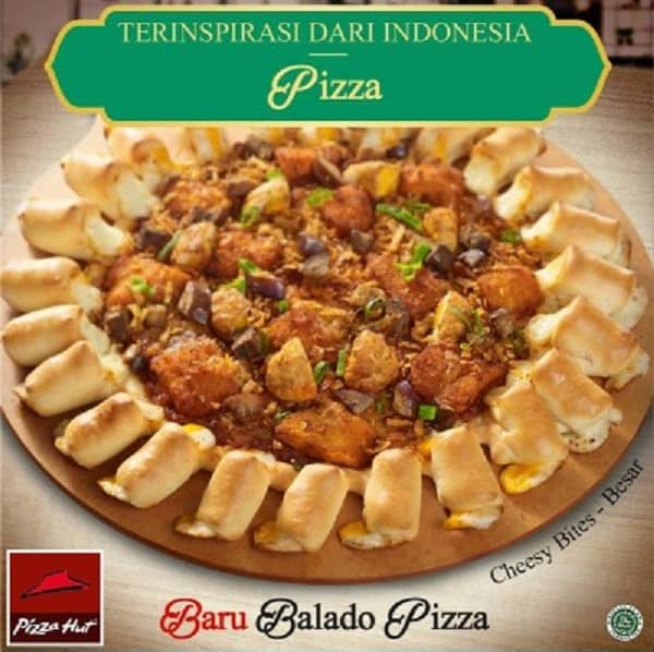 Pizza Hut Promo Menu Baru Balado Pizza