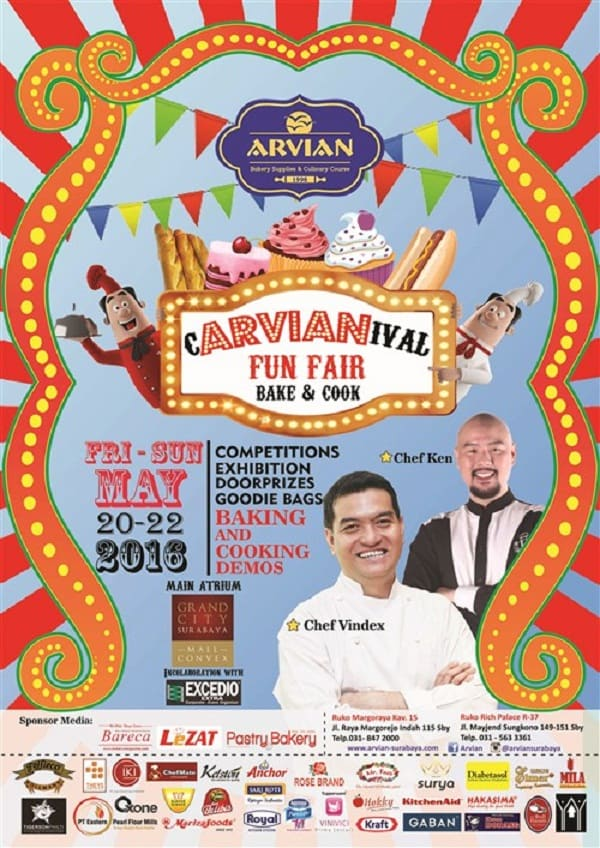 cARVIANival Fun Fair Bake and Cook