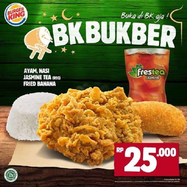 Burger King Promo BK Bukber Harga Mulai Rp. 25.000,-