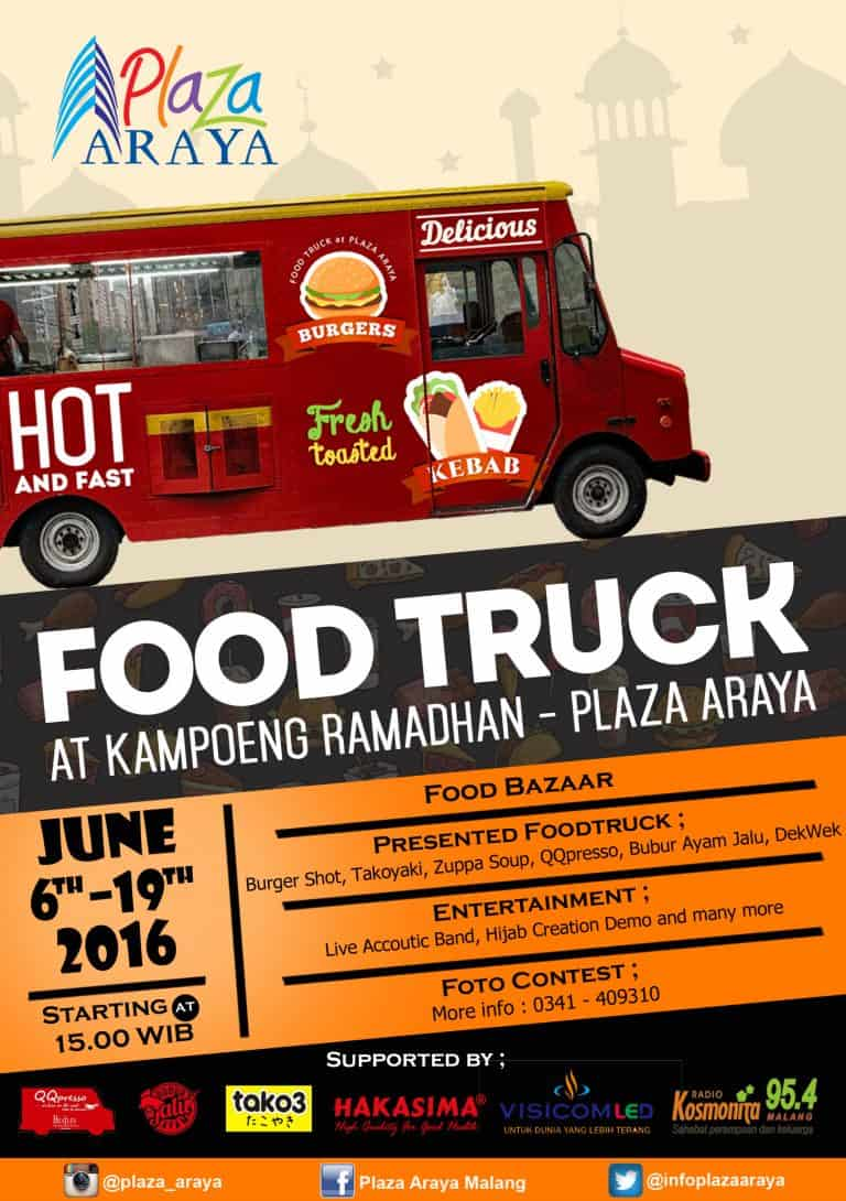 Food Truck at Kampoeng Ramadhan