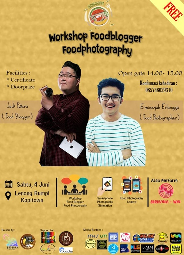 Foodlosophy: Workshop Foodblogger dan Foodphotography