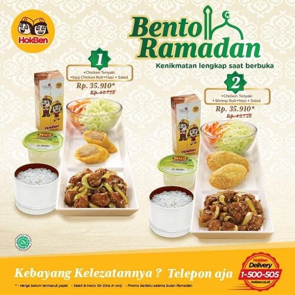 Hoka Hoka Bento Promo Bento Ramadhan Harga Mulai Rp. 35.910,-