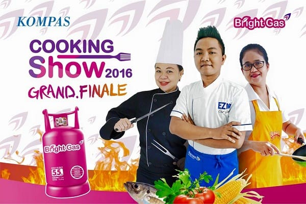 Kompas Bright Gas Cooking Show 2016 Grand Finale