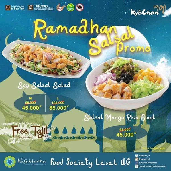 Kyochon Restaurant Promo Ramadhan Salsal Harga Mulai Rp. 45.000,-