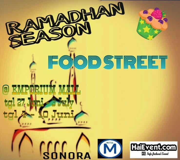 Ramadhan Season: Food Street