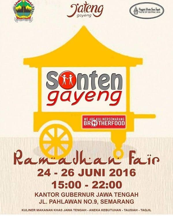 Sonten Gayeng Ramadhan Fair