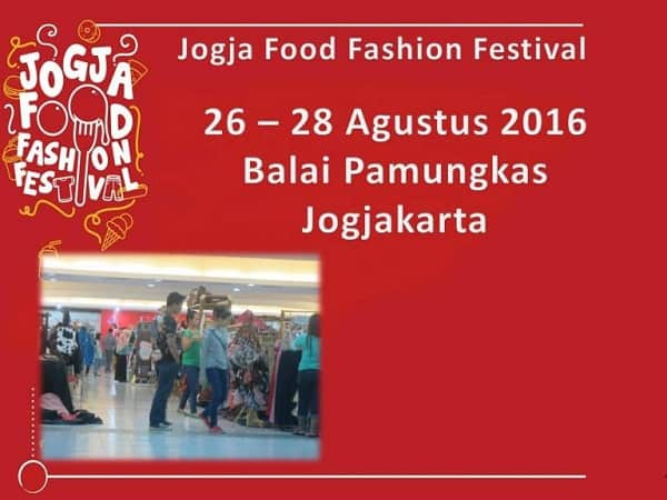 Jogja Food Fashion Festival