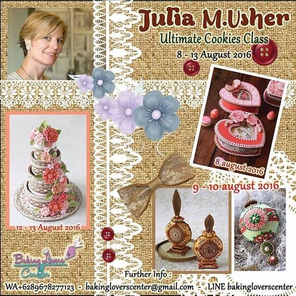 Julia M. Usher Ultimate Cookies Class