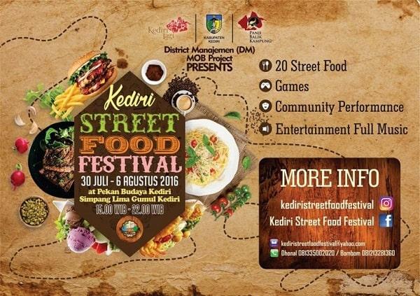 Kediri Street Food Festival